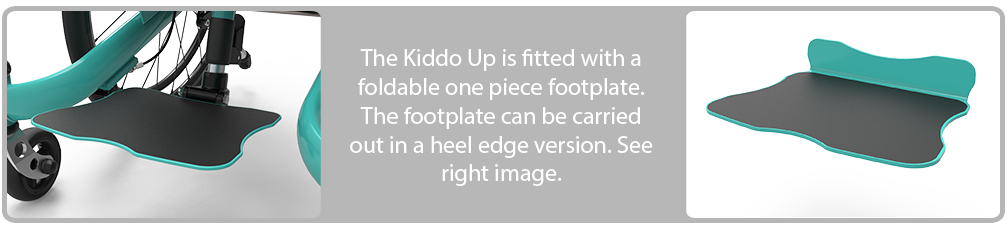Kiddo Up foot plate